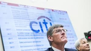 Citigroup's CEO Corbat faces tense questions