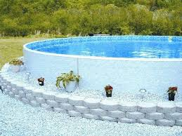 landscaping around above ground pool pictures landscaping