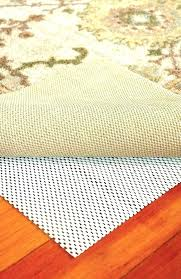 felt rug pad vs rubber pads and bottom non slip which side up review of