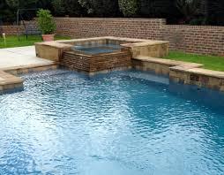 rectangular pool designs with spa. Corner Rectangle Pool With Spa Concave Rectangular Designs R