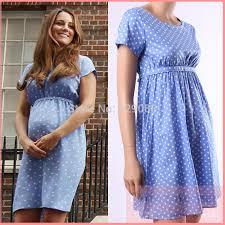 Maternity Dress Patterns Simple 48 Princess Kate Middleton Same Style Maternity Dress O Neck
