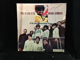Myrna Summers & The Interdominational Singers-Tell It Like It Is-Cotillion  51-SS | eBay