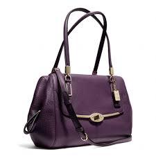 ... East West Medium Khaki Satchels Aty Purple Gallery. Womens Coach  Madison Gallery.