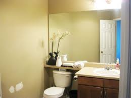Decorating Bathroom Mirrors Rectangular Black Stained Wooden Wall Mirror Bathroom Mirrors