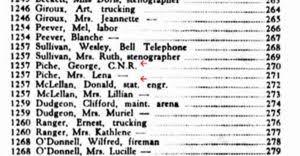 Lena (Doyle) Piché (1922-1972) | WikiTree FREE Family Tree