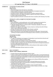 Investment Banking Resume Template Investment Banker Resume Examples Banking Executive Template Wso S 25