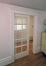 Pocket Door Retrofit Wall Mounted Sliding Bathroom Door