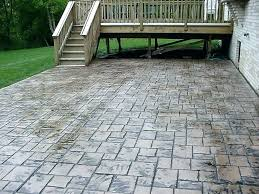 concrete driveway cost per square foot stamped concrete cost per square foot cost to install concrete patio stamped concrete patio cost per how much does