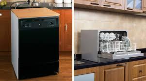 portable versus countertop dishwashers