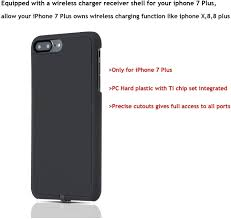 Wireless Charger Receiver Qi Wireless Charging Receiver Phone Back Slim  Case for iPhone 7 Plus and iPhone 7 for iPhone 7 Plus: Amazon.de: Elektronik