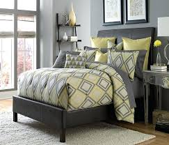 gray and yellow bedding sets yellow and gray bedding that will make your bedroom pop with gray and yellow bedding