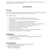 Accounting Clerk Cover Letter General Accounting Clerk Cover Letter Sample Tomyumtumweb