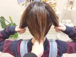 短いボブでもできる簡単三つ編みアップスタイルのお呼ばれヘアアレンジ