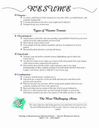 ... for Mba Resume Education Types Of Resume formats Best Of Download  Resumes ...