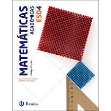 Código Bruño Matemáticas Académicas 4 Eso (Tapa Blanda) · Libros · El Corte  Inglés