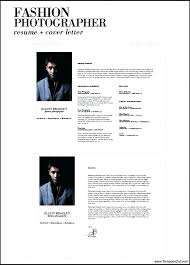 photographers resume photographer cover letter resume cv cover letter