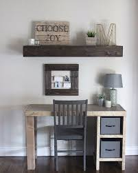 diy home office desk featuring hardy home reno
