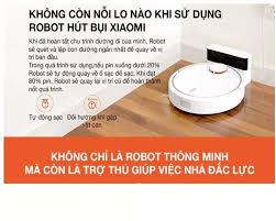 ⭐Robot Hút Bụi Xiaomi SKV4022GL Mi Robot Vacuum - Hàng Chính Hãng: Mua bán  trực tuyến Máy hút bụi tự động với giá rẻ