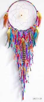 How To Make Your Own Dream Catcher How To Make A Dreamcatcher Tutorial Inspiration 17