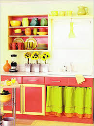 Colorful Kitchens Kitchen Design 43 Chic Colorful Kitchen Decorating Ideas