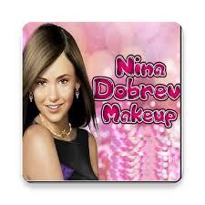 nina dobrev makeup game