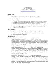 Restaurant Resume Template Restaurants Manager Resume Free Template Restaurant Assistant 17