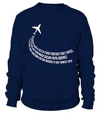 The nato phonetic alphabet, more accurately known as the international radiotelephony spelling alphabet and also called the icao phonetic or icao spelling alphabet, as well as the itu phonetic alphabet, is the most widely used spelling alphabet. Phonetic Alphabet T Shirt Pilot Airplane Shirt Sweatshirt Teezily