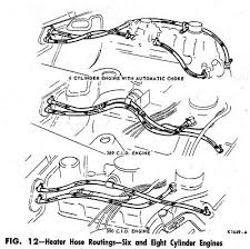 heater hose routing diagrams hoserouting for ford engines 1967 jpg