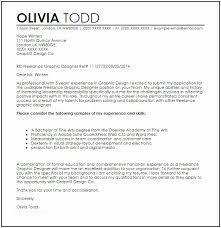 Freelance Writer Cover Letter Freelance Graphic Designer Cover