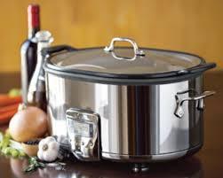 all clad qt slow cooker aluminum insert sd 7 qt slow cooker aluminum insert