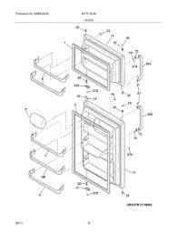 parts for kelvinator katr1816mw0 refrigerator appliancepartspros com GE Refrigerator Parts Diagram 03 door parts for kelvinator refrigerator katr1816mw0 from appliancepartspros com