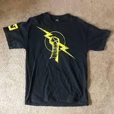 Cm Punk Shirt Design Wwe Cm Punk Nexus Shirt Size L Fits True To Size Depop