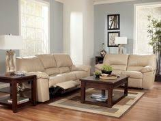 to own ashley durablend natural reclining sofa and loveseat from bestway living room furniture setsliving
