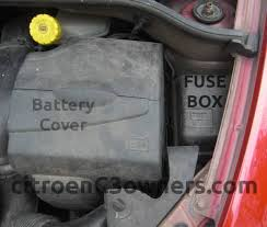 citroen c3 c3 fuse box locations help and advice c3 fuse box locations