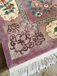 color restoration on wool rug after