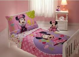 sale USA <b>Disney Minnie Mouse</b> 4 Piece Toddler Bedding Set deals ...