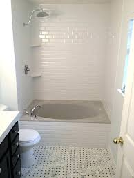 shower replace bathtub with shower pan cost of replacing bathroom