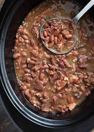 slow cooker pinto beans and ham