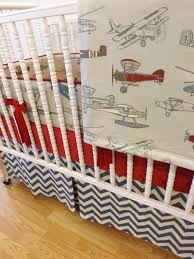 airplane crib sheet