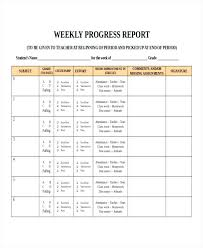 Business Progress Report Template Simple Business Project Report Template Development Manager Weekly