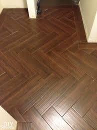 herringbone tile floor diyshowoff of to marvellous design ideas vinyl plank flooring in kitchen