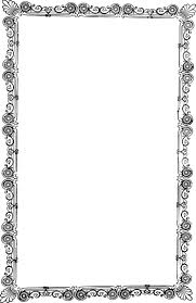 ornate old frame