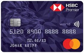 hsbc premier world mastercard credit