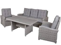 Gartenmöbel Lounge Set Mit Esstisch Stern Space Sofagruppe 4