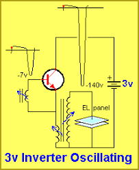 12v el wire inverter schematic daily electronical wiring diagram • making your own 3v inverter rh talkingelectronics com el wire inverter 110v circuit el wire driver circuit schematic