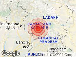 The national emergency management agency. Earthquake In Katra Jammu And Kashmir Today With Magnitude 5 1 Earthquake In India