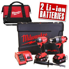 milwaukee m18 logo. milwaukee m18 fpp2a-502xbg 18v next gen fuel brushless 2 piece kit logo
