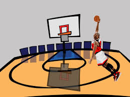 Basketball Powerpoint Template Basketball Game PPT Backgrounds Games Templates PPT Grounds 24