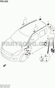 Suzuki swift engine diagram exterior car parts diagram 242 roof rh detoxicrecenze suzuki swift parts manual 1995 suzuki swift