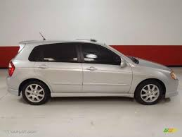 Clear Silver 2006 Kia Spectra Spectra5 Hatchback Exterior Photo ...